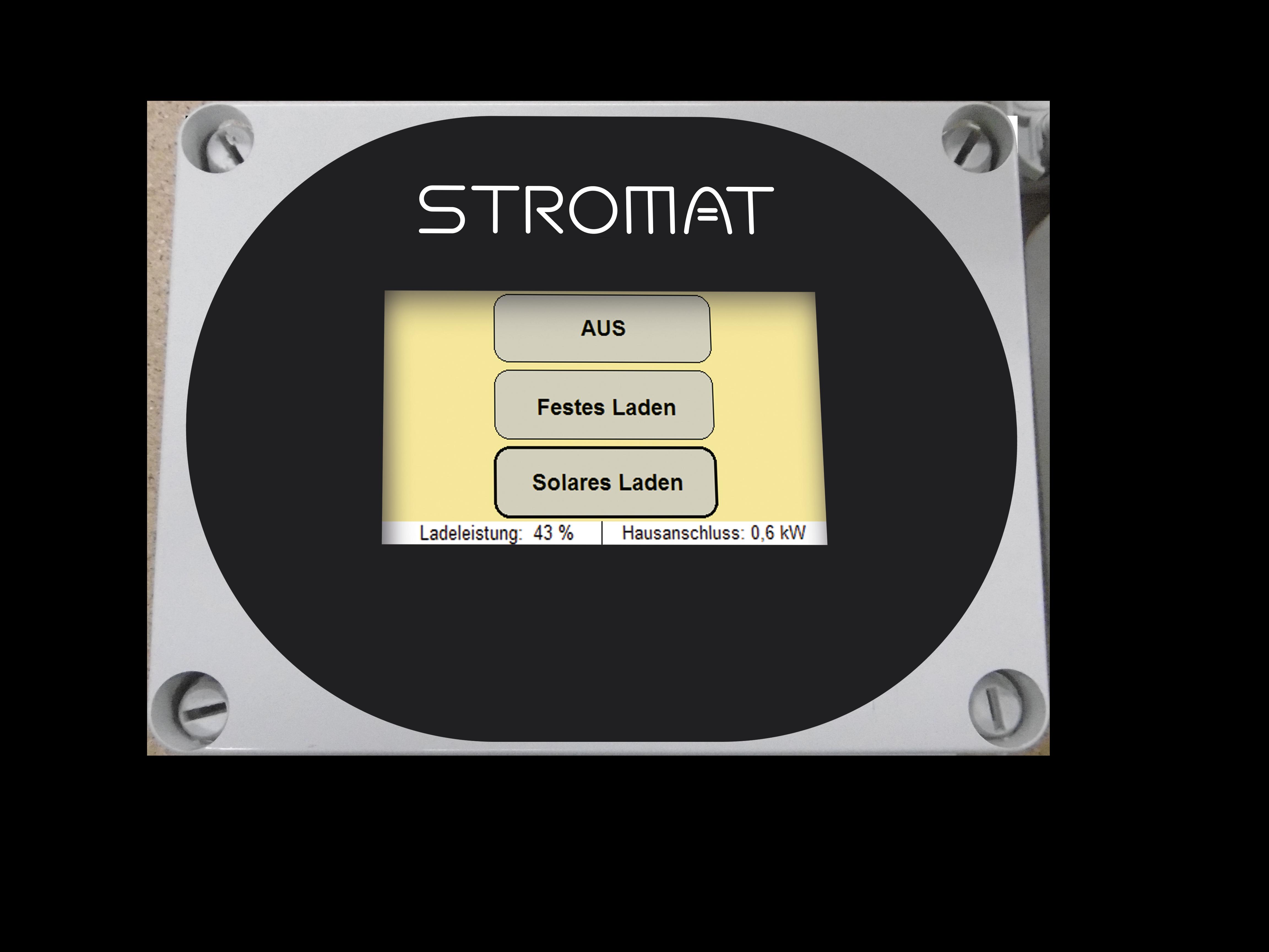Solarkopplung für Ladestation (STROMAT)