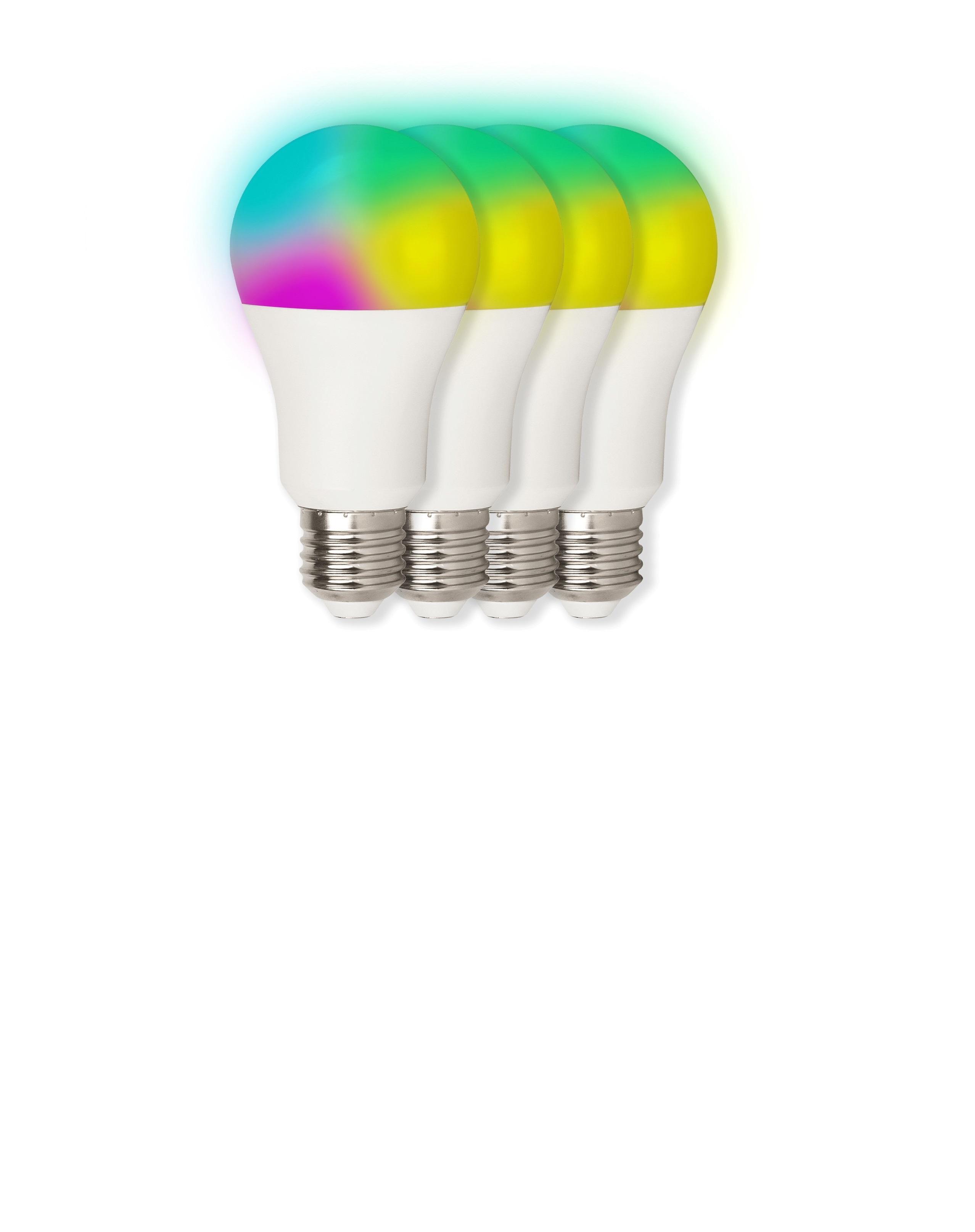 essentials Smart Home LED Leuchtmittel 10 W (4er-Set)