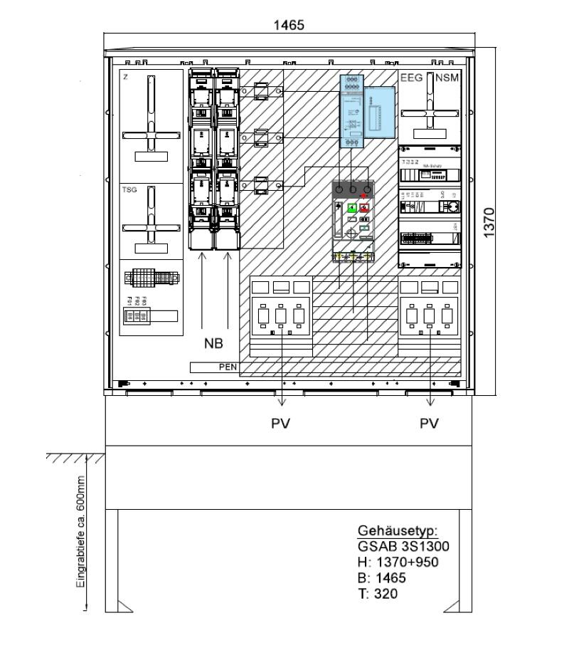 GSAB ZAS Erzeugungsanlagen bis 300kVA (Volleinspeisung)