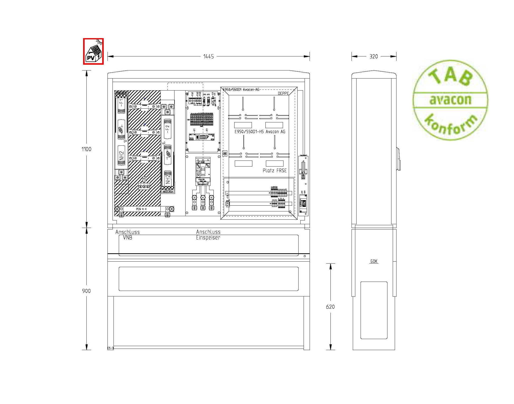 UESA ZAS Erzeugungsanlagen bis 135 kVA (Volleinspeisung)