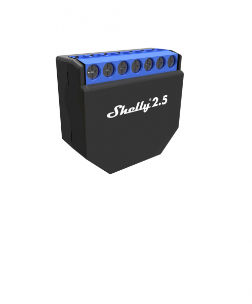Shelly 2.5 WiFi-Switch