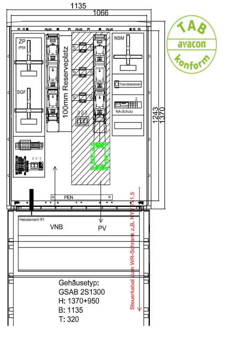 GSAB ZAS Erzeugungsanlagen bis 135 kVA (Volleinspeisung)