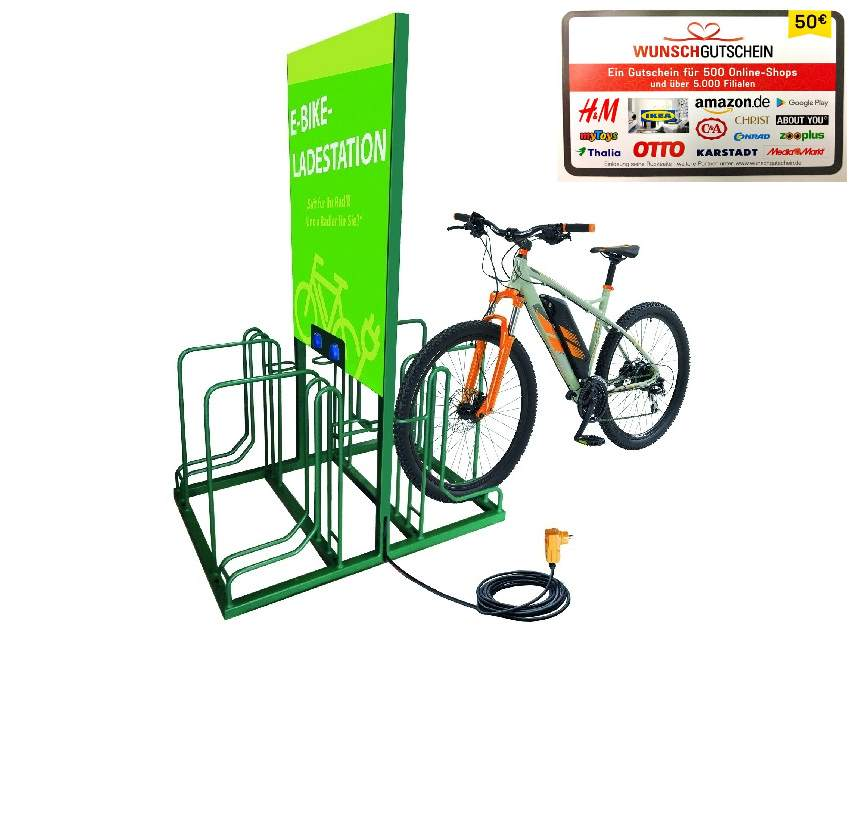 Ladestation Charge4Bike