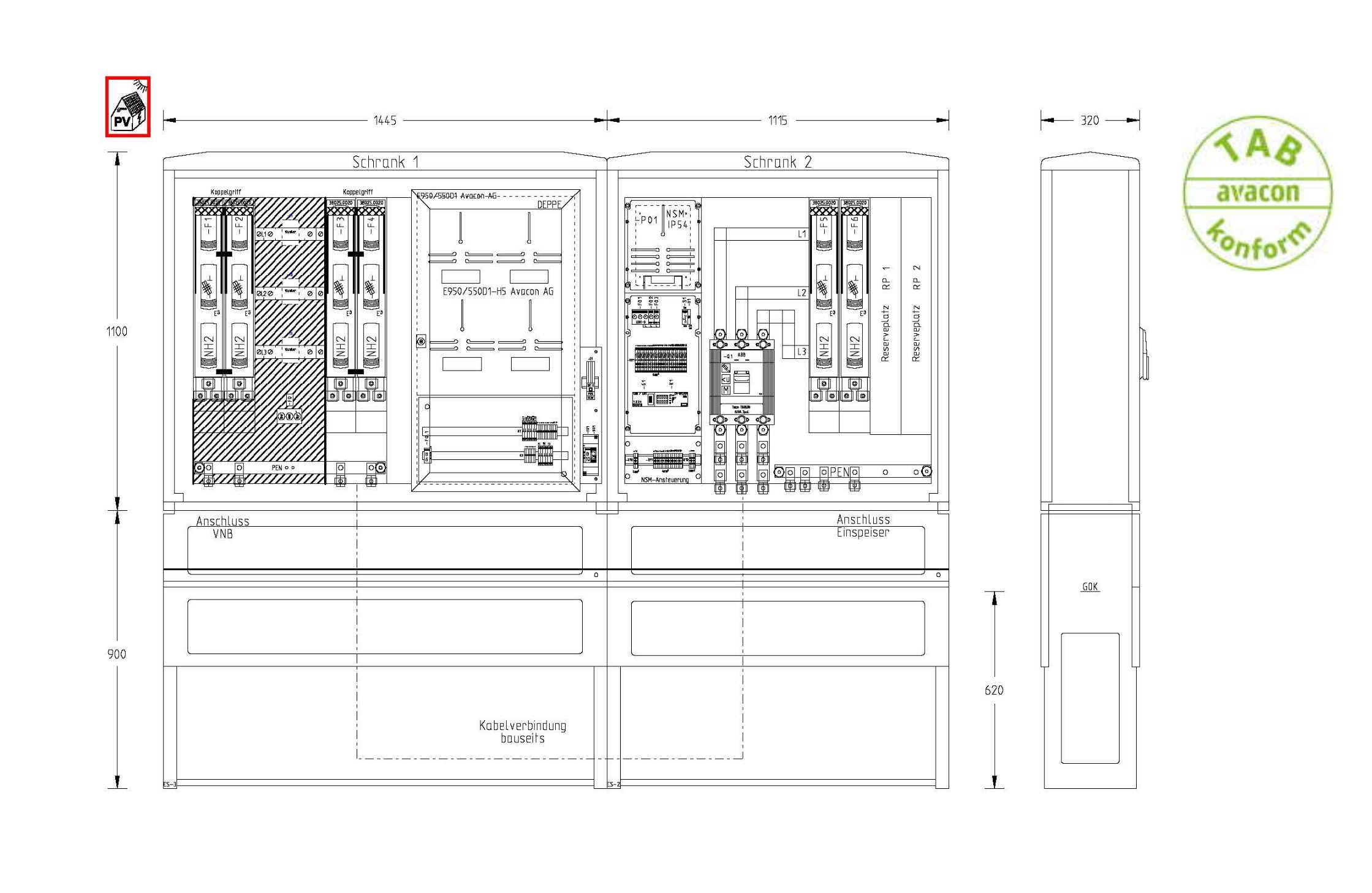 UESA ZAS Erzeugungsanlagen bis 300 kVA (Volleinspeisung)