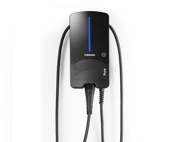 Webasto Pure Wallbox (bis 22 kW) Black Edition Front