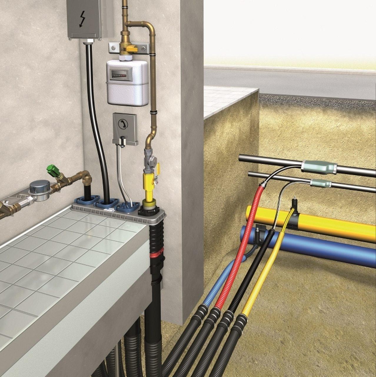 DOYMA Quadro-Secura BHP Mehrsparte Eco als Set (ohne Keller)
