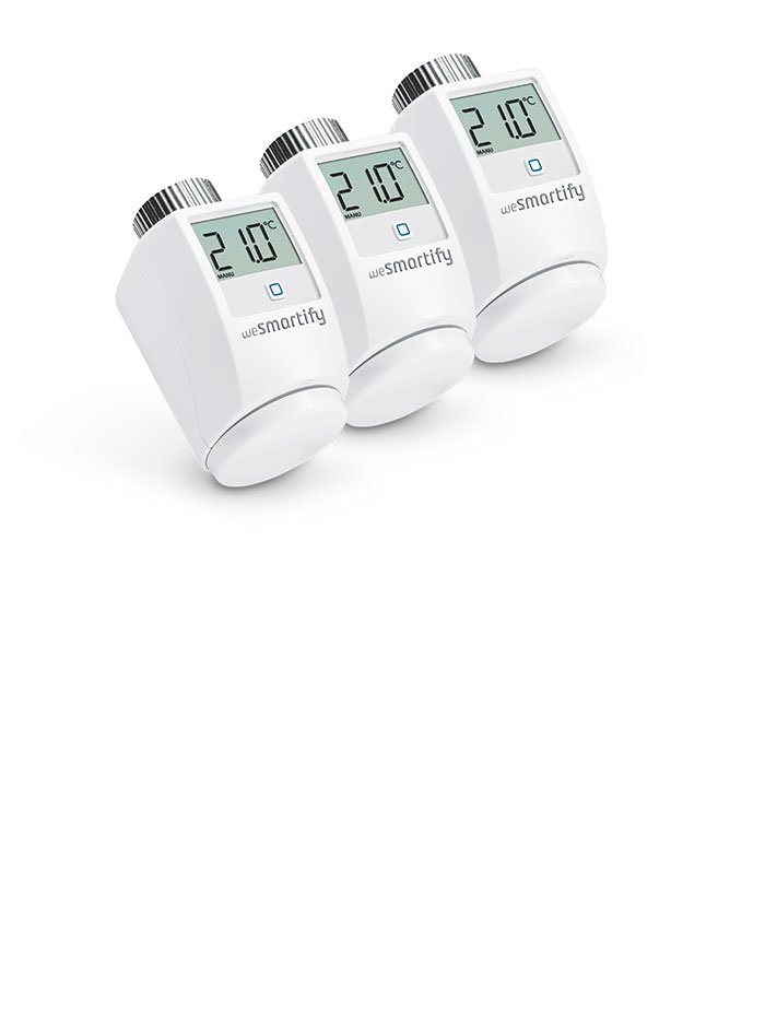 Set Heizkörperthermostat Smart Home