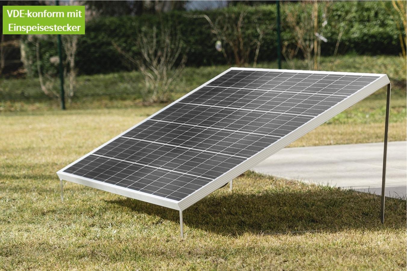 EET Solarmodul LIGHTMATE G mit Aufsteller - Black Edition