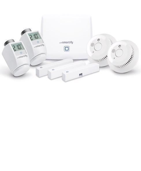 Starter-Set Sicherheit & Heizung (3 Räume)