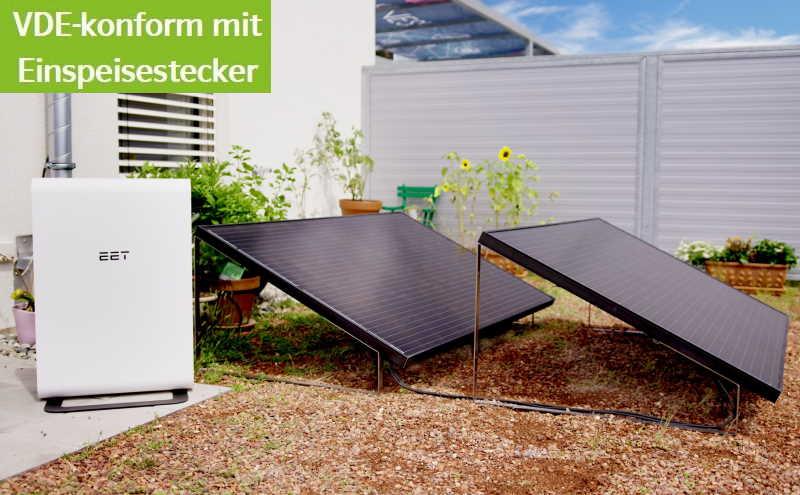 EET SolMate G - Speicher mit Solarmodul