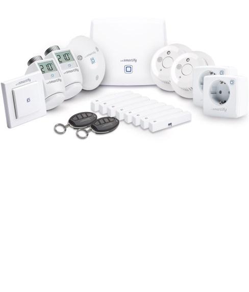 Starter-Set Sicherheit, Heizung & Licht (5 Räume)
