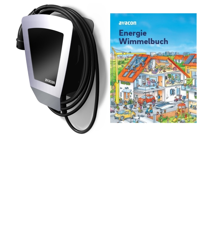Heidelberg Wallbox Home Eco – Edition Avacon PowerBox – mit Typ 2-Ladekabel